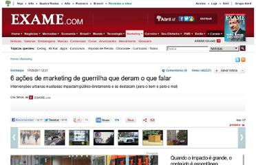 http://exame.abril.com.br/marketing/noticias/6-acoes-de-marketing-de-guerrilha-que-deram-o-que-falar