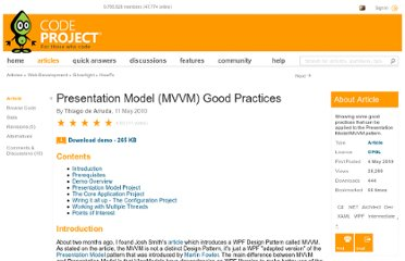 http://www.codeproject.com/Articles/79058/Presentation-Model-MVVM-Good-Practices