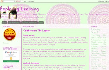 http://mrshollyexploringlearning.blogspot.com/2013/03/collaboration-legacy.html