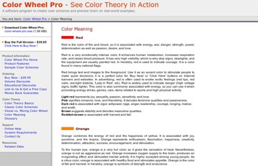 http://www.color-wheel-pro.com/color-meaning.html