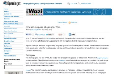http://www.openlogic.com/wazi/bid/276417/Nine-all-purpose-plugins-for-Vim