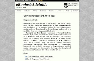 http://ebooks.adelaide.edu.au/m/maupassant/guy/index.html