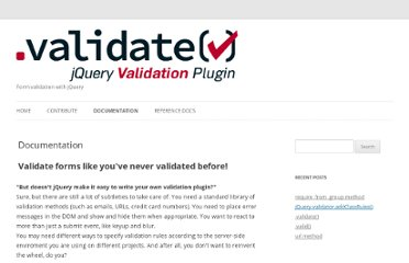 http://docs.jquery.com/Plugins/Validation