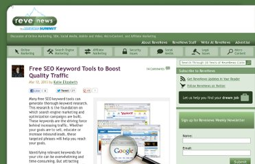 http://www.revenews.com/search-engine-marketing/free-seo-keyword-tools-to-boost-quality-traffic/