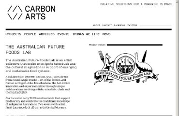 http://www.carbonarts.org/projects/the-australian-future-foods-lab/