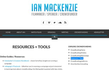 http://www.ianmack.com/crowdfunding-web/resources/