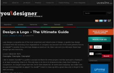 http://www.youthedesigner.com/2008/01/11/design-a-logo-the-ultimate-guide/