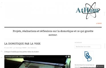 http://dominiquetardif.wordpress.com/2013/03/24/la-domotique-par-la-voix/