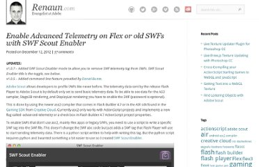 http://renaun.com/blog/2012/12/enable-advanced-telemetry-on-flex-or-old-swfs-with-swf-scount-enabler/