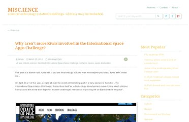 http://misc-ience.co.nz/2013/03/25/why-arent-more-kiwis-involved-in-the-international-space-apps-challenge/