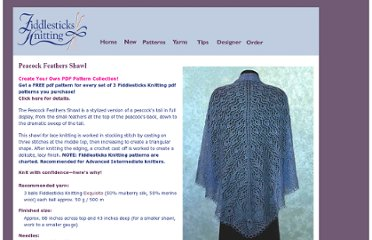 http://www.fiddlesticksknitting.com/peacock_feathers_shawl.html