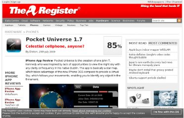 http://www.theregister.co.uk/2009/07/25/review_iphone_app_pocket_universe/