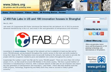 http://www.3ders.org/articles/20130323-450-fab-labs-in-us-and-100-innovation-houses-in-shanghai.html