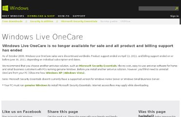 http://windows.microsoft.com/en-us/windows/security-essentials-onecare