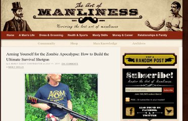 http://www.artofmanliness.com/2011/07/11/how-to-make-a-survival-shotgun/