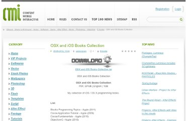 http://www.gfxcool.co/e-books/376545-osx-and-ios-books-collection.html