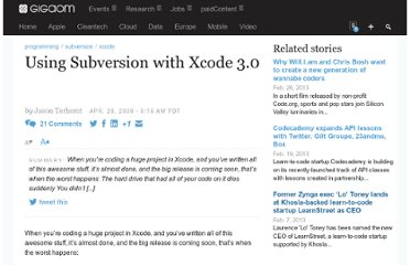 http://gigaom.com/2008/04/28/using-subversion-with-xcode-30/