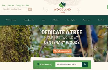 http://www.woodlandtrust.org.uk/en/Pages/default.aspx#.UVA_qdF-P0M