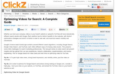 http://www.clickz.com/clickz/column/2257028/optimizing-videos-for-search-a-complete-guide