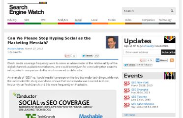 http://searchenginewatch.com/article/2257044/Can-We-Please-Stop-Hyping-Social-as-the-Marketing-Messiah