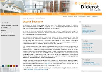 http://www.bibliotheque-diderot.fr/collections/cadist-education-125018.kjsp?RH=3BIBDD-RACINE&RF=3BIBDD-0402
