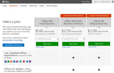http://office.microsoft.com/en-us/business/compare-office-for-business-plans-FX102918419.aspx#fbid=NAXK72We1EI