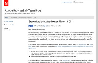 http://blogs.adobe.com/browserlab/2013/03/13/browserlab-is-shutting-down-on-march-13-2013/