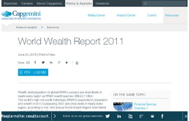 http://www.capgemini.com/resources/world-wealth-report-2011