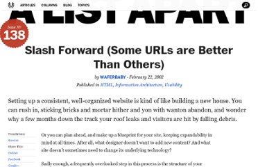 http://alistapart.com/article/slashforward