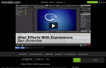http://www.moviola.com/on-demand/after-effects-with-expressions/#.UVC-bdF-P0M