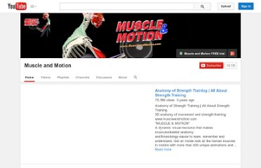 http://www.youtube.com/user/MuscleandMotion