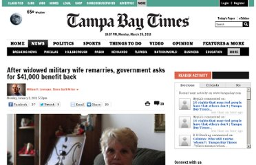 http://www.tampabay.com/news/military/after-widowed-military-wife-remarries-government-asks-for-41000-benefit/1143324