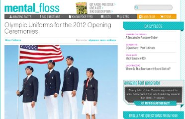 http://mentalfloss.com/article/31178/olympic-uniforms-2012-opening-ceremonies