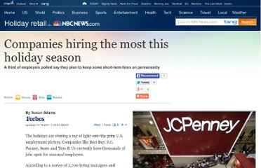 http://www.nbcnews.com/id/45213316/ns/business-holiday_retail/t/companies-hiring-most-holiday-season/#.TsFmoRWa9tN