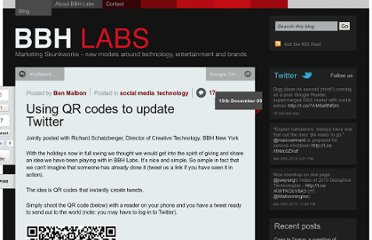 http://bbh-labs.com/using-qr-codes-to-update-twitter/