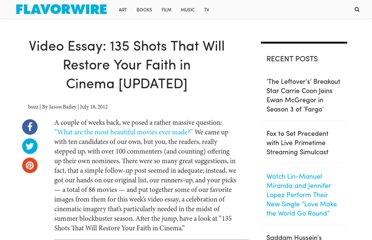 http://flavorwire.com/310079/video-essay-135-shots-that-will-restore-your-faith-in-cinema