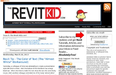 http://therevitkid.blogspot.com/search/label/revit%20tutorial