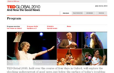 http://conferences.ted.com/TEDGlobal2010/program/