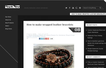 http://www.rings-things.com/blog/2011/03/08/how-to-make-wrapped-leather-bracelets/#.UVD2g9F-P0N