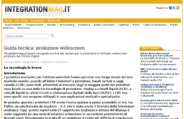 http://www.integrationmag.it/2012/01/30/guida-tecnica-proiezione-widescreen/