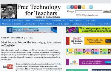 http://www.freetech4teachers.com/2011/12/most-popular-posts-of-year-3-47.html#.UVD-wNF-P0M