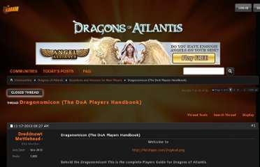 http://community.kabam.com/forums/showthread.php?12039-Dragonomicon-(The-DoA-Players-Handbook)&s=a0b9b3bac056077586cfb0b23f14ec8d