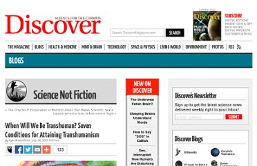 http://blogs.discovermagazine.com/sciencenotfiction/2011/07/16/when-will-we-be-transhuman-seven-conditions-for-attaining-transhumanism/#.UVECkdF-P0M