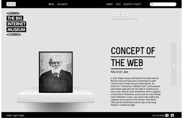 http://thebiginternetmuseum.com/wings#concept-of-the-web