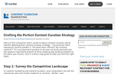 http://www.contentcurationmarketing.com/crafting-the-perfect-content-curation-strategy/