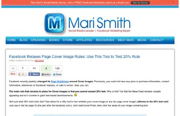 http://www.marismith.com/facebook-relaxes-page-cover-image-rules-new-tool-20-per-cent-rule/