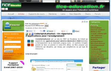 http://www.tice-education.fr/index.php?option=com_content&view=article&id=731:creteiledumarket-un-repertoire-dapplications-pour-lenseignement&catid=91:tablettes-smartphones&Itemid=311