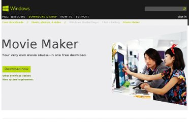 http://windows.microsoft.com/en-us/windows-live/movie-maker-get-started
