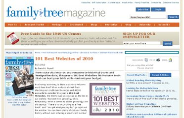 http://familytreemagazine.com/article/101-Best-Websites-2010