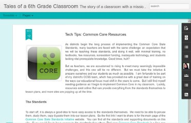 http://www.6thgradetales.com/2012/11/common-core-resources.html